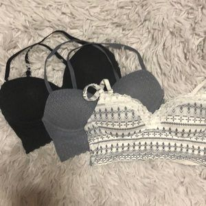 Set of 3 VS bras